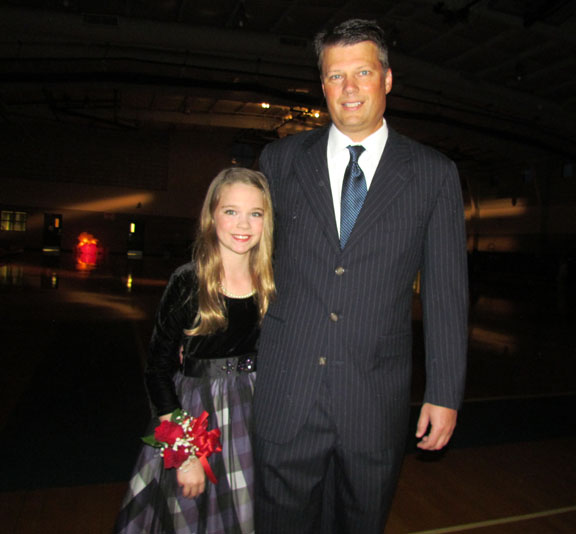 Wellington Hosts Annual Father Daughter Dance At Village Park