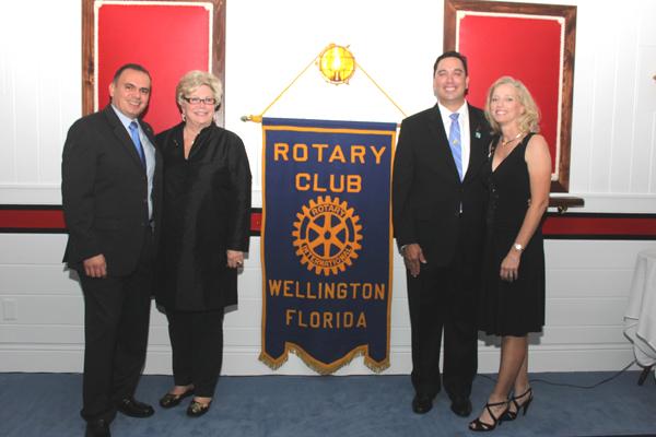 Wellington Rotary Club Installation