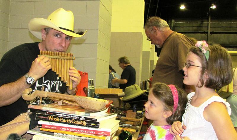 Great Deals At Fairgrounds' Garage Sale