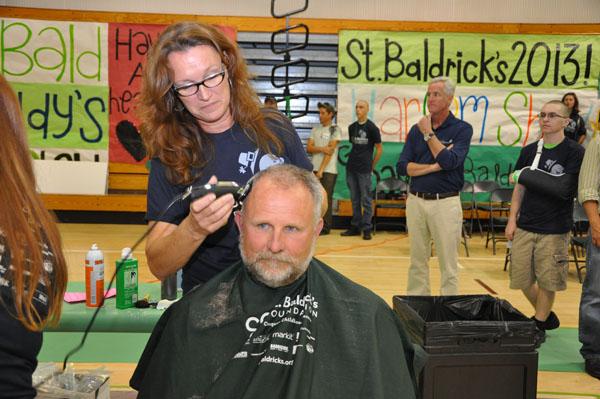PBCHS Students Support St. Baldrick's
