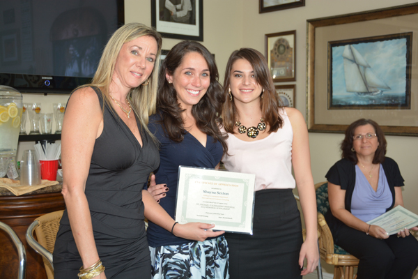 First D'Alessandro Scholarship Awarded