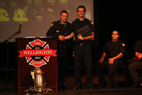 WHS Fire Academy Graduates First Class Of Cadets