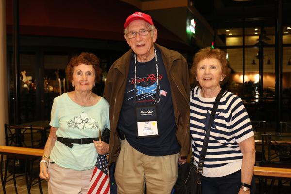 Honor Flight Veterans Return Home