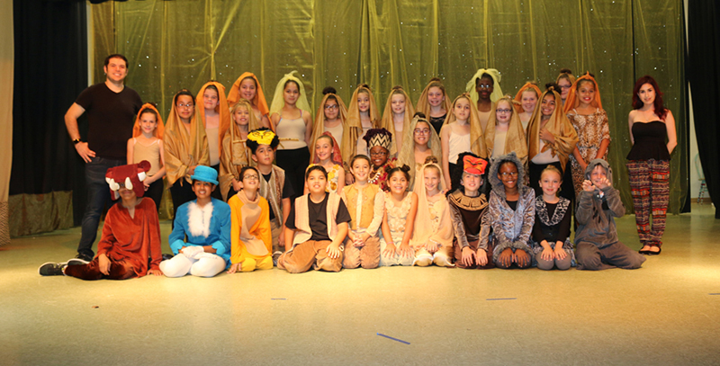 'Lion King Jr.' At Elbridge Gale Aftercare