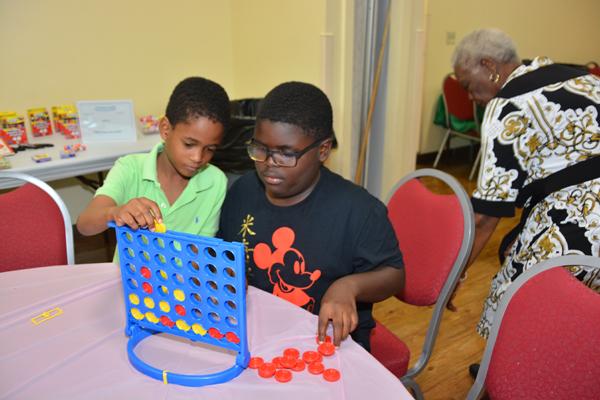 Kids Enjoy A Visit With RPB Seniors