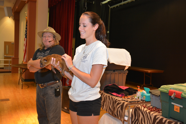 Animals From McCarthy's Visit Camp