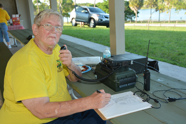 Radio Club Takes Part In Field Day