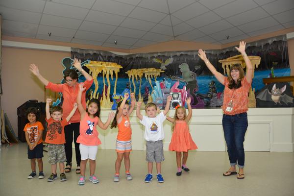 Kids Enjoy 'Cave Quest' At St. Peter's
