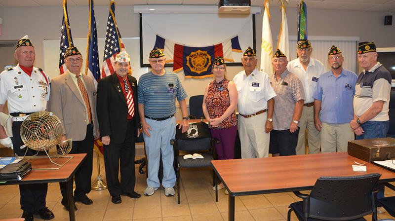 American Legion Post Installation