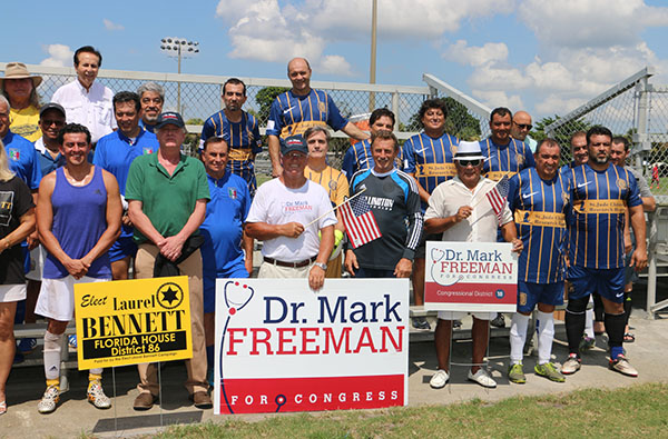 Dr. Mark Freeman Visits With The Last Dream Soccer Club