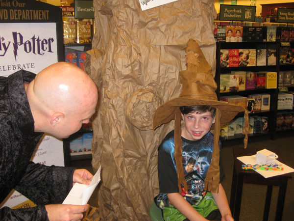 Harry Potter Party At Barnes & Noble