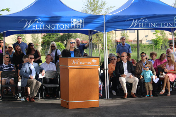 Ceremony Opens New Wellington Community Center