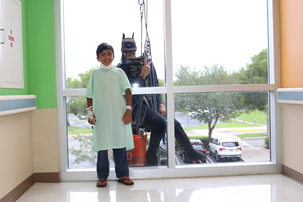 Window Washers Delight PWH Patients