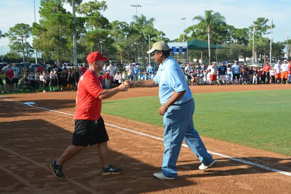 Ceremony Starts RPB Baseball Season