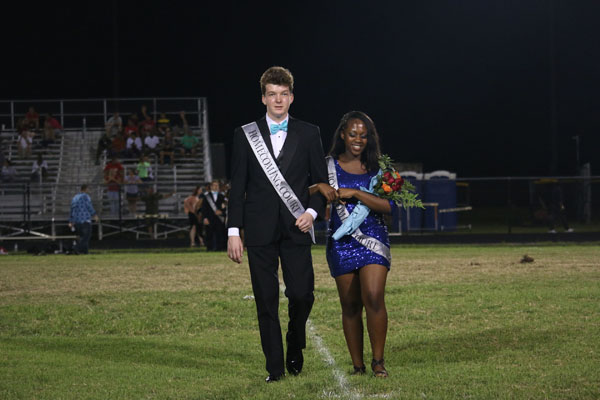 RPBHS Crowns Homecoming Royalty