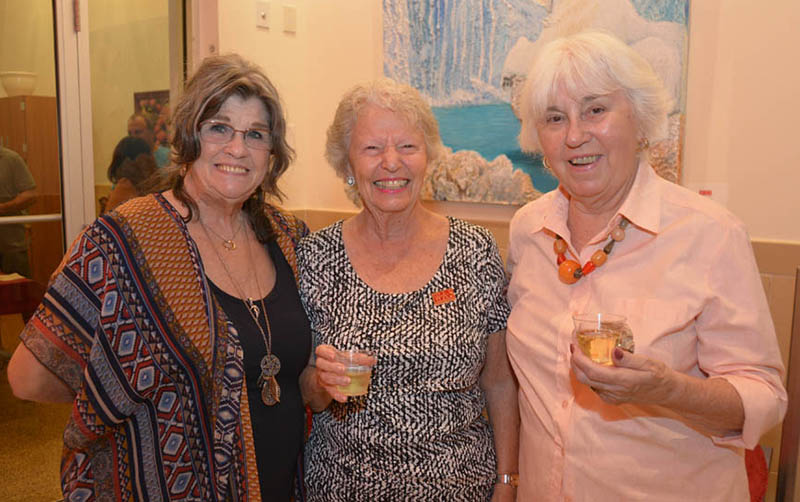 Reception For Local Artist Toni Willey