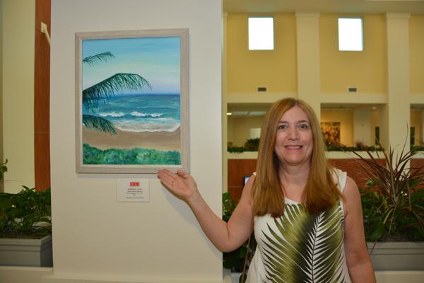 Wellington Art Society Hosts Reception