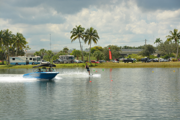 Top Skiers On Hand As Okeeheelee Park Hosts U.S. Open Water Skiing