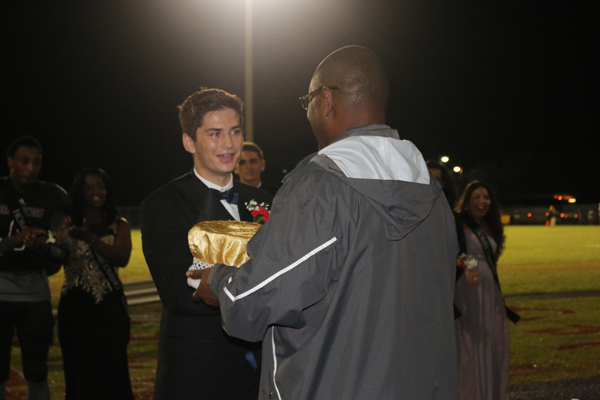 PBCHS Crowns Homecoming Royalty