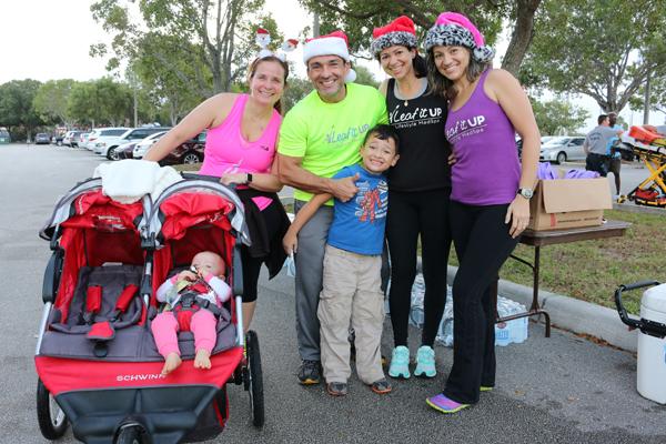 Festive Runners Enjoy Jingle Bell 5K