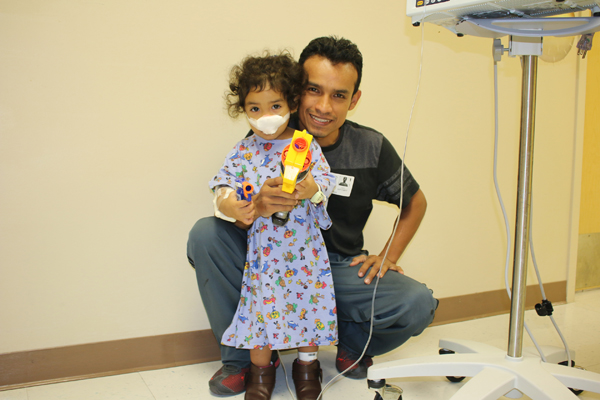 Little Smiles Nerf Gun Fun At Palms West