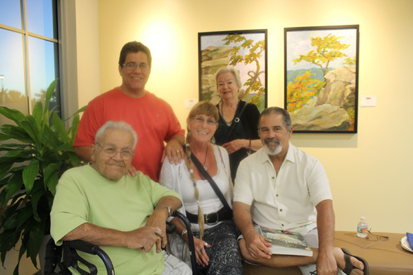 Wellington Art Society Hosts Gallery Reception