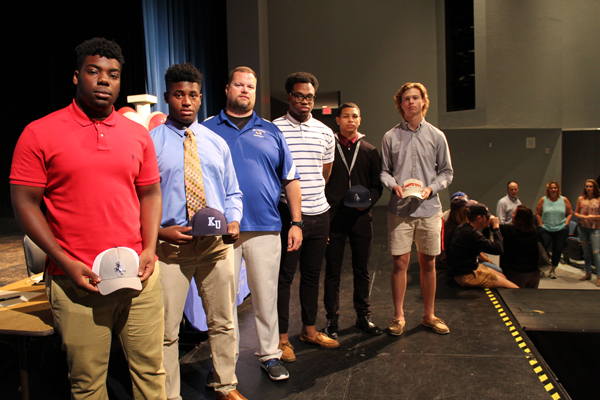 Eight WHS Student-Athletes Commit To College Sports Programs