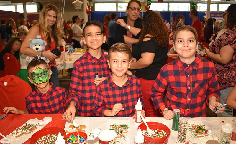 Kids Cancer Foundation Hosts Breakfast With Santa   Town-Crier Newspaper